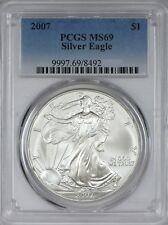 2007 American Silver Eagle PCGS MS69