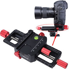 150mm macro enfoque Riel Deslizante cámara soporte para trípode Cabezal De Bola