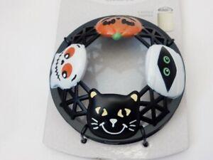 Yankee Candle Halloween Friends Illuma Lid 2020 Mummy Ghost Cat Pumpkin NEW!!