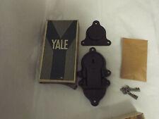 "Vtg Yale Lock 60T w/Hardware,Keys. Yale & Towne Mfg., Co 1943?Original Box 6""x3"""
