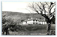 Vintage Postcard Morefield Hotel Ullapool Scotland real photo