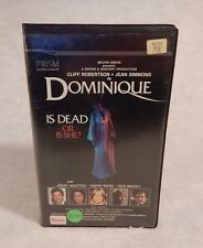 betamax beta DOMINIQUE Is Dead or is She? 1979 Cliff Robertson  Jean Simmons