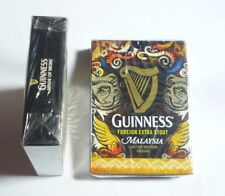 Malaysia Playing Cards Guinness Stout Gold Pack Sealed 2015 Limited  00004000 Edition Rare