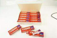 80er Jahre 20 x Colgate Fluor+Mineral 19ml  Zahnpasta Verpackung Sammler M-2729