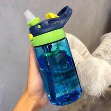 Baby Water Bottle Feeding Cup Straw Milk Drinking Kids Infant Toddler Juice