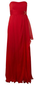 MIKAEL AGHAL Crushed Silk Evening Maxi Dress BNWT **Very Rare**