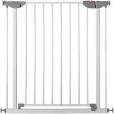 Reer Klemmgitter, Metall 74 - 80,7 cm Türschutzgitter ohne Bohren und Schrauben