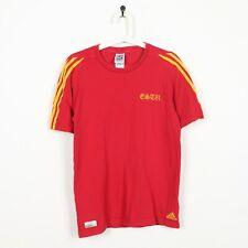 De Colección Adidas Copa del Mundo FIFA 2010 David Villa España Camiseta Rojo   Mediano M
