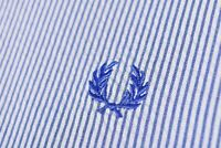 Fred Perry Striped Long Sleeve Shirt Size M