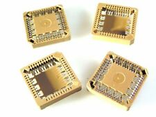 PLCC 44 Surface Mount IC Socket for Flat pack 44 pin IC's 4 pieces OM1005