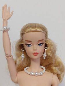 "Pearls DOLL JEWELRY fits 12"" Fashion Dolls Poppy Parker Barbie Silkstone NuFace"