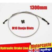 1300mm Hydraulic Brake Line Hose Cable Motorbike Dirt ATV Quad Bike Buggy GoKart