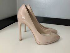 Topshop Womens Heels, Shoes, Pointy, Nude, Eu38 Uk 5, Vgc