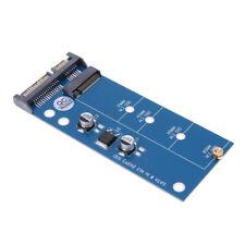 Adattatore M.2 o MSATA a USB o SATA, scheda adattatore convertitore SSD, blu