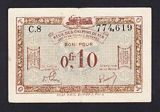 France 0,10  Francs 1923  F-VF P. R 2,  Banknote, Circulated