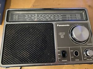 Vintage Radio National Panasonic Gx3  Rf-1103djbs