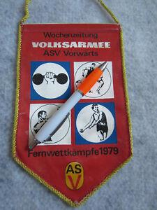 DDR, Wimpel, NVA, Wochenzeitung, Volksarmee, ASK Vorwärts, Fernwettkämpfe 1979