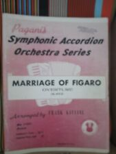 MARRIAGE OF FIGARO OVERTURE *CONDUCTORS SCORE BY FRANK GAVIANI 56 Pgs MUSIC BOOK