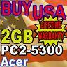 2GB Acer Aspire 5050 Series 5100 5590 5710 MEMORY RAM