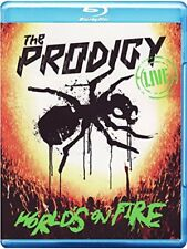New - The Prodigy Live - World's On Fire CD + Blu-Ray (Warrior's Dance Festival)