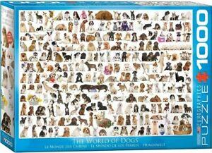 Eurographics Puzzle 1000 Piece Jigsaw puzzle - World of Dogs  EG60000581