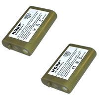 Pack de 2 HQRP Téléphone Pile pour Vtech i5808, 5808, ip5850, 5850