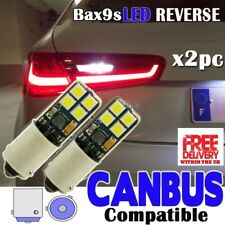 2x Audi A3 S3 RS3 Reverse White canbus Bulbs 8smd 3030 SMD LED Error Free BAX9S