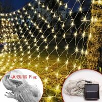 LED Curtain Mesh Net 96/200/800 LED String Fairy Lights Outdoor Party Garden