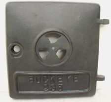 Buckeye 235 Antique Vtg Wood Coal Potbelly Cast Iron Stove Door NOS 104-131
