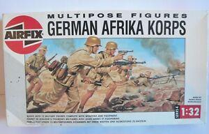BOITE DE SOLDATS / AIRFIX / GERMAN AFRIKA KORPS / PORT OFFERT