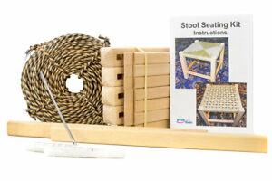 Peak Dale Seagrass Stool seating Craft Kit Natural  NEW, SEALED