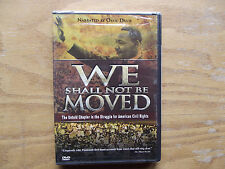 We Shall Not Be Moved (DVD, 2006) Ossie Davis - New