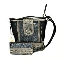 Montana West Concealed Carry Purse Wallet Flap Western Country Crossbody Bag