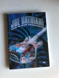 2 DVD JOE SATRIANI / LIVE IN SAN FRANCISCO /