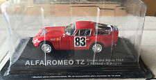 "DIE CAST "" ALFA ROMEO TZ COUPE DES ALPES - 1964 "" RALLY DEA SCALA 1/43"