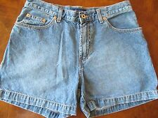 Guess Blue Jeans Shorts Sz 31 Cotton Carpenter Loop Distressed Style Made in USA