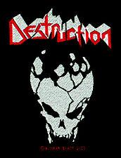 DESTRUCTION - Patch Aufnäher - skull- neu