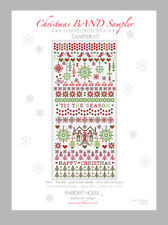 CHRISTMAS BAND SAMPLER COUNTED CROSS STITCH KIT RIVERDRIFT