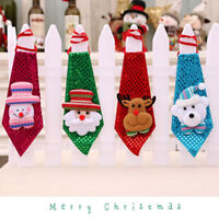 Christmas Design Tie Party Accessories Christmas Tie Party Dance For Kids Gifts