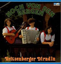 LP Reitzenberger Dirndln - Hoch von den Bergen