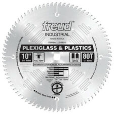 "New Freud Tools Lu94M010 10"" x 80T Pexiglass & Plastic Blade"