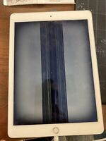 Rissig Apple IPAD Air 2 A1566 128GB Wi-Fi Silber Ios Tablett