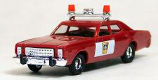 Busch 1/87 HO 1978 Plymouth Fury Minnesota State Patrol Car Red 46655