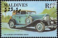 1931 AUBURN Convertible Sedan Mint Automobile Car Stamp (2000 Maldives)