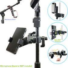 iphone X 8 7 6 Plus Smartphone Swivel Mount for Music Boom Mic Microphone Stand