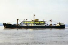 mc0483 - Elder Dempster Cargo Ship - Owerri , built 1955 - photo 6x4