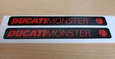 2 OFF DUCATI Monster carenatura Decalcomania Sticker 1199 899 1299 959