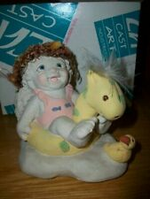 "Dreamsicles Splish splash July Cherub Dc186 3 1/2"" tall with box"