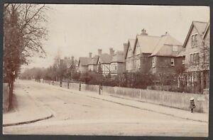 Postcard Shortlands Bromley Kent houses in Beckenham Grove early RP