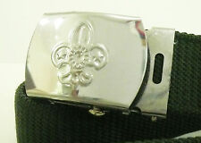 Extinct SCOUTS OF CHINA (TAIWAN) - SCOUT MEMBER Metal SILVER COLOR Buckle & Belt